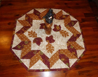 Fall Leaves quilt, Fall little quilt 0520-02