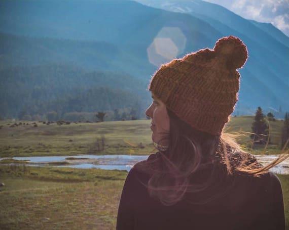 Pom Pom Beanie Winter Hat Womens Hat Winter Pom  027b9a89508