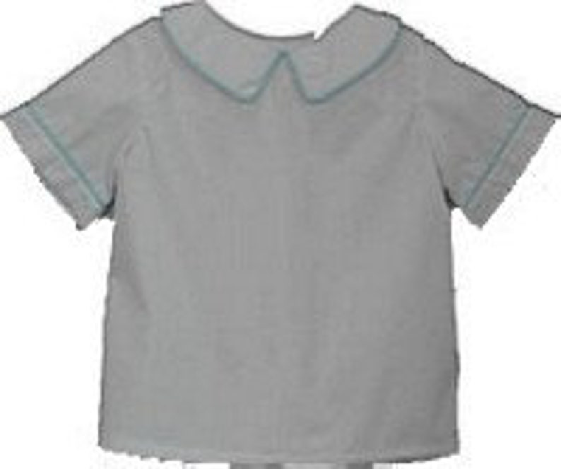 88535674 Peter Pan Collar Boys Shirt Sizes 3 months-4T Ready to Ship   Etsy
