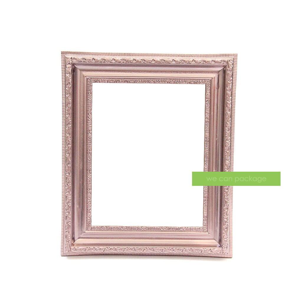 Cuadro marco oro rosa Vintage Shabby Chic Foto 8 x