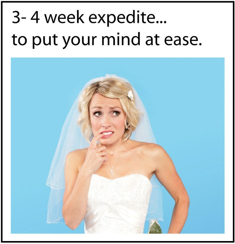 EXPEDITE INVITATIONS  Shipping of order within 3  4 weeks   image 0