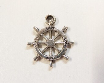 5CT. Ship Wheel, Helm Charms (Y27)