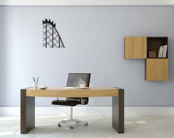 Roller coaster Wall Decal