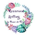 Custom listing for Kylie Risson