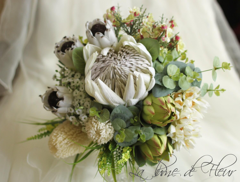 Matilda Brides Bouquet Australian Natives King Etsy