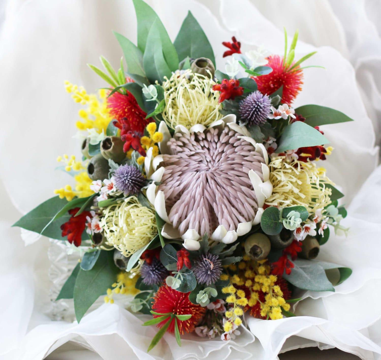 Rustic native flower bouquet brides bouquet of rustic etsy zoom izmirmasajfo