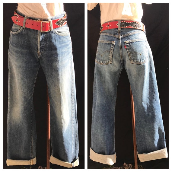 Jeans Alert! RedLines Levi Strauss & Co Button Fly