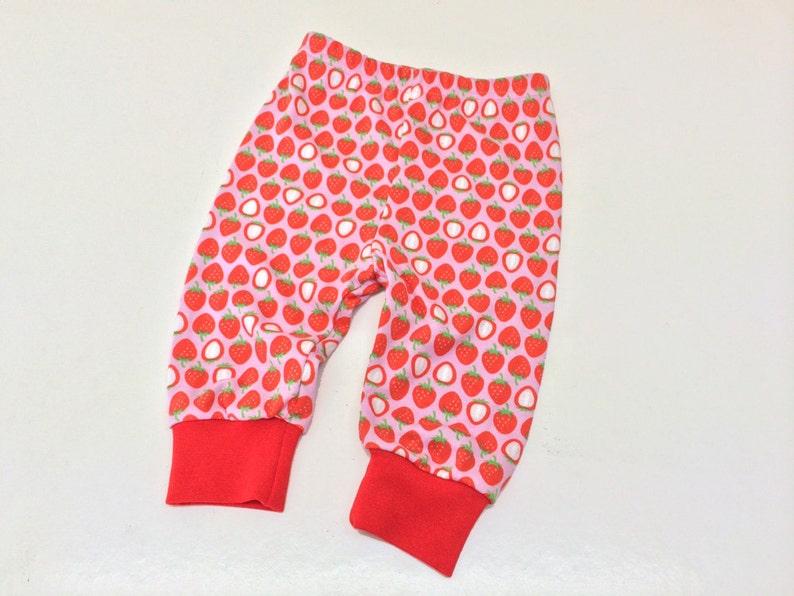 Babykleding Opruiming.Sale 50 Korting Baby Broekje Meegroeibroekje Aardbeien Tricot Etsy