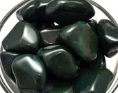 1 Bloodstone Tumbled Stone Healing Crystal and Stone for Protection Reiki Meditation Feng Shui Jewelry Crafts RB04
