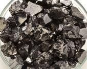 2 SHUNGITE Rough Chunks aka Elite Noble Stone Extra Quality Crystal SG11