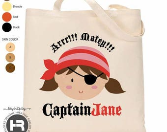Jake and the Never Land Pirates Inspired Kid/'sToddler Tote Bag