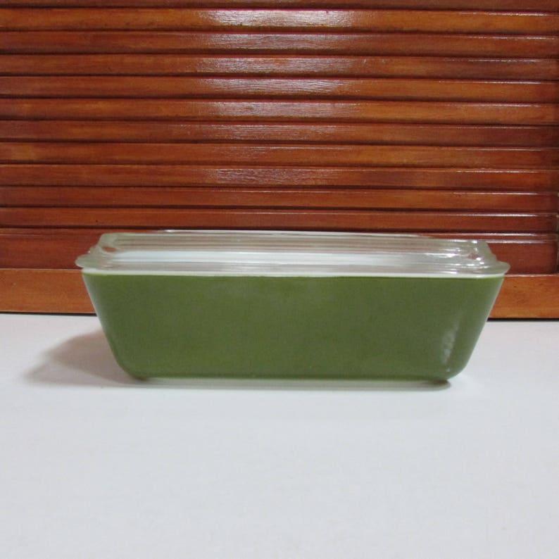 Pyrex Green 1.5 Quart Casserole with Lid