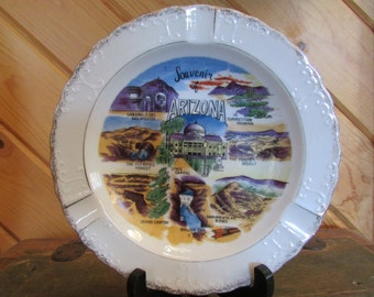 Vintage Arizona Collectable Souvenir Ashtray
