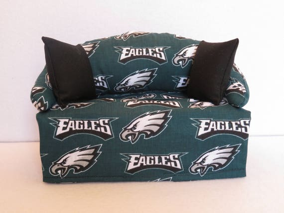 Philadelphia Eagles Tissue Box Cover In Sofa Shape