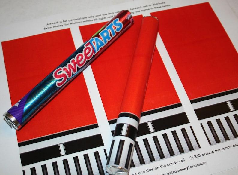 graphic about Lightsaber Printable identify Star Wars Crimson Lightsaber Sweet - Printable Art