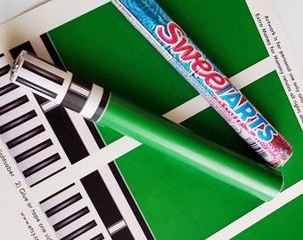 Star Wars Green Lightsaber Candy - Printable Artwork