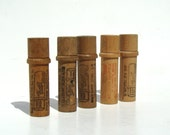 Vintage Needle Cases - Wooden Needle Cases - Home decor - hobby