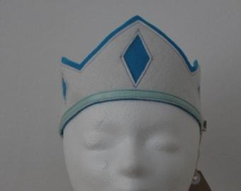 Woolfelt Birthday Crown, Waldorf-style Crown Dress up Crown