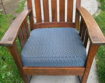 Pleasant Oak Rocking Chair Etsy Onthecornerstone Fun Painted Chair Ideas Images Onthecornerstoneorg