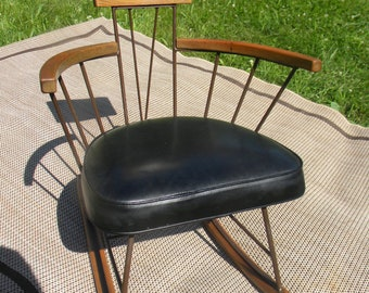 Pick Up Only Scarce Great Shape 1950s Mid Century Paul MCCOBB ROCKER  ROCKING Chair Pick Up Only