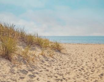 Craigville Beach Art, Cape Cod Art, beach prints, large canvas wall art, seascape