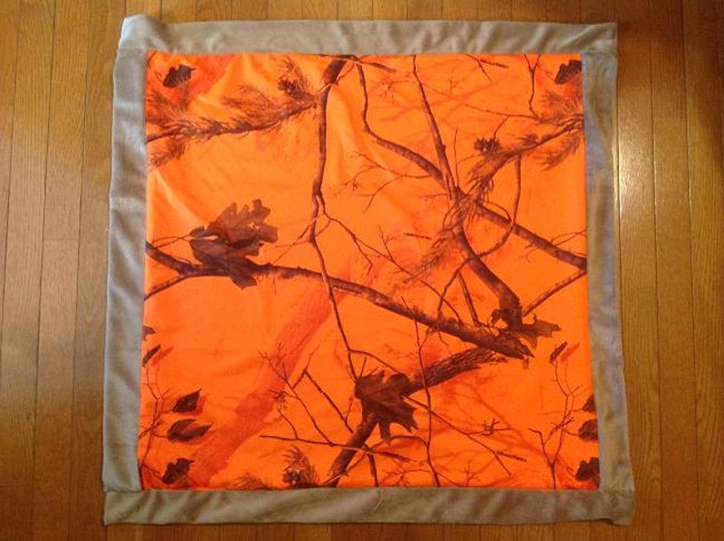 Personalized Baby Gift FREE SHIPPING Personalized Baby Blanket Personalized Camo Blanket
