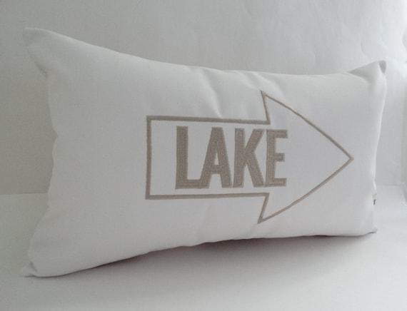Lake Pillow Cover Sunbrella Indoor Outdoor 12 X Etsy