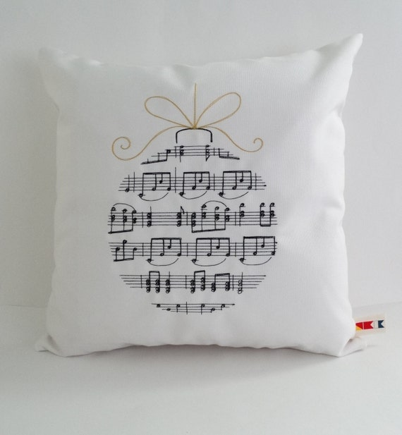 Christmas Pillow Cover Sunbrella Indoor Outdoor Cover Etsy