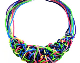 Tangled Up Statement Necklace
