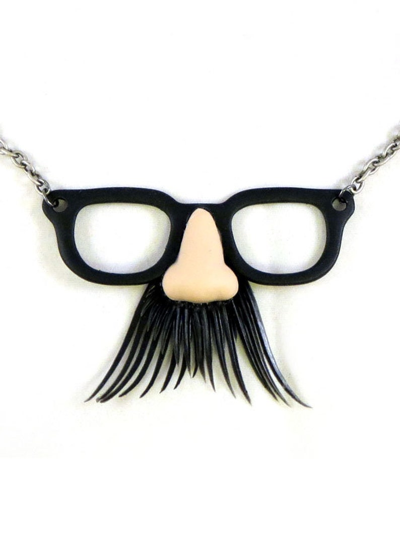 Disguise Glasses Necklace  CLEARANCE 50% OFF image 0