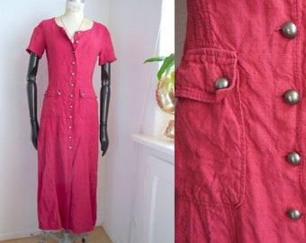 5ca56596d0c Kleid geknöpft