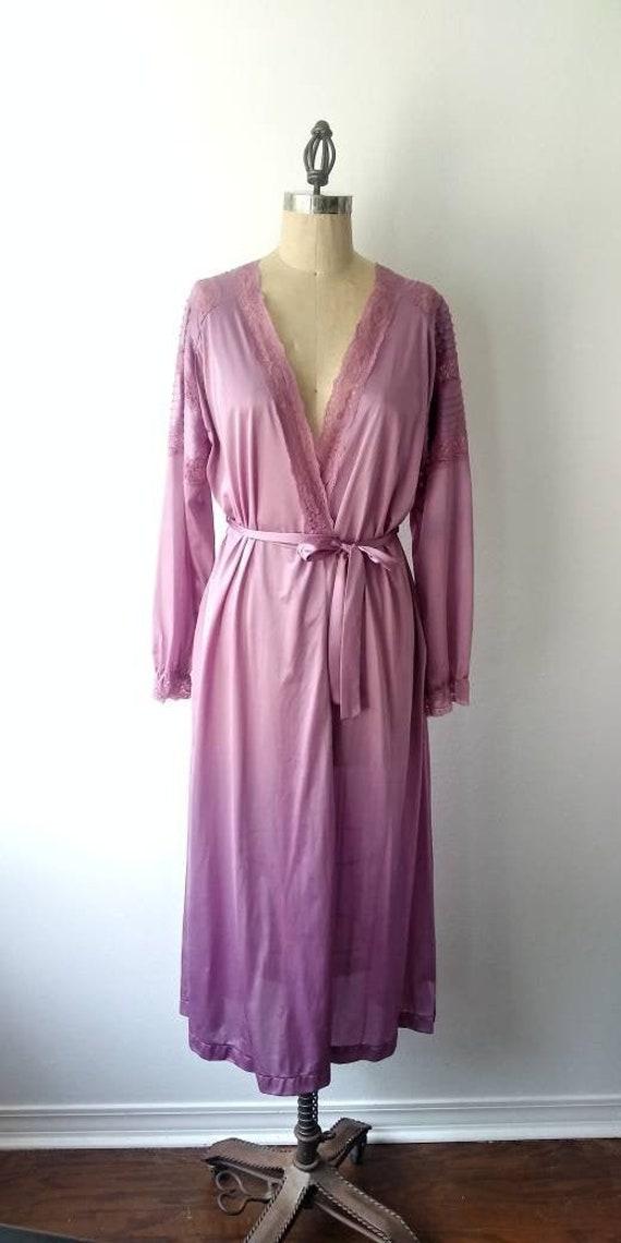 Lilac Long Robe by Henson Kickernick - Large