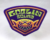 Goblin Squad embroidered patch | folklore mythology monster military badge