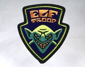 Elf Troop embroidered patch