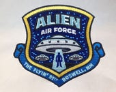 Alien Air Force Embroider...