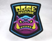 Ogre Brigade embroidered patch