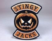 Stingy Jacks jack-o-lantern pumpkin Halloween motorcycle club biker patch