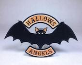 Hallows Angels | vampire bat Halloween motorcycle club biker patch