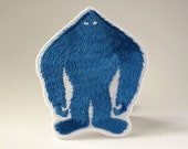 Yeti silhouette embroider...