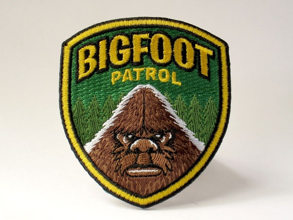 cryptozoology sasquatch BIGFOOT North America Cryptid embroidered patch
