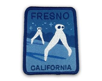 Fresno, California Travel Patch (Nightcrawlers)