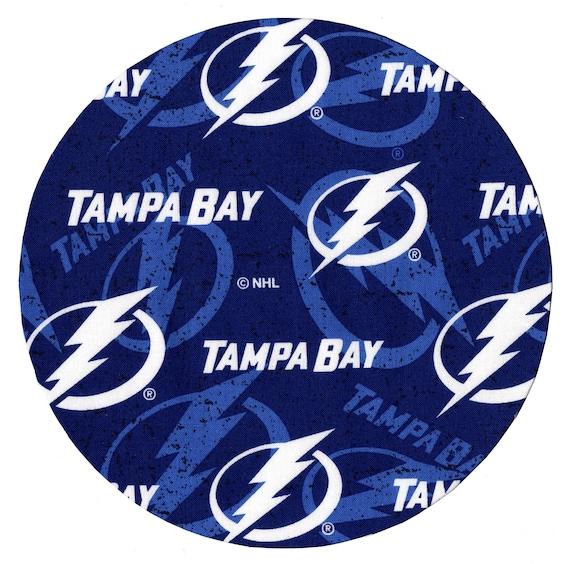 Tampa Bay Lightning Round Fabric Mouse Pad Mat Mice Mousepad