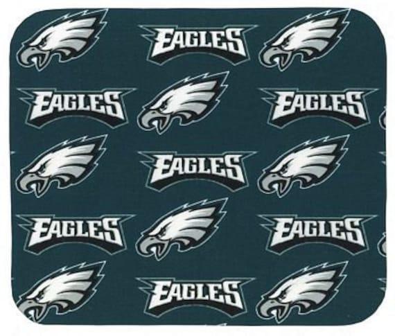 Philadelphia Eagles Round Fabric Mouse Pad Mat Mice Mousepad