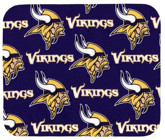 Minnesota Vikings Round Fabric Mouse Pad Mat Mice Mousepad