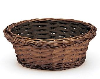 Round Willow Basket