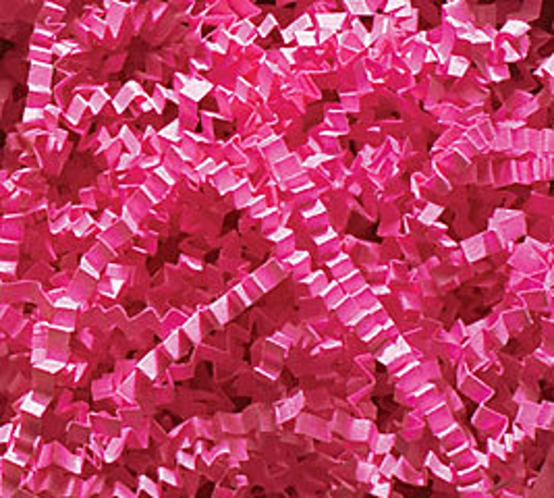 Crinkle Cut Shred in assorted colors - 4 oz  Package