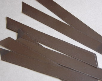 Black Precut Ribbon Lengths