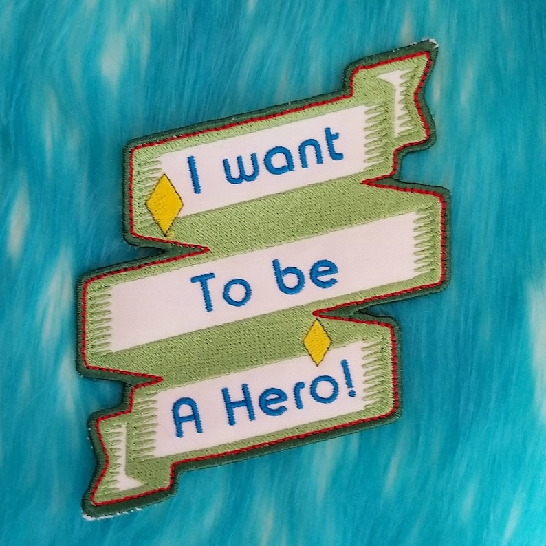 I want to be a Hero Patch image 0