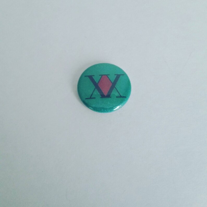 Hunter X Hunter inspired 1 inch pinback button image 0