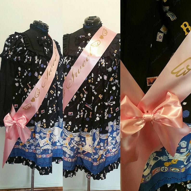 SPECIAL: Customized Sash / Lolita / Sweet 16 / Bride / Bridal image 0